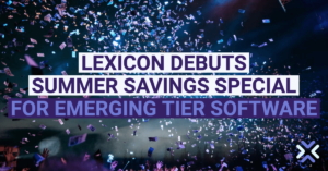 Lexicon Debuts Summer Savings Special for Emerging Tier Software